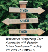 Simplifying Test Automation with Behavior Driven Development