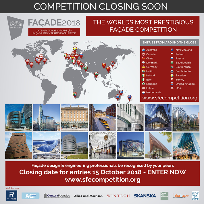 FACADE2018 - International Awards for Facade Engineering Excellence