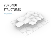 Voronoi Structure: sketching with Rhino and Grasshopper