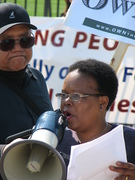 Eileen Mpofu (WCPJED) at White House, 4/15/11