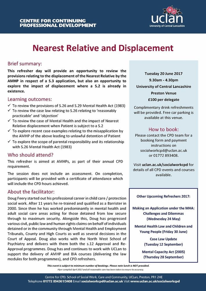 NR and Displacement 20.06.17