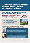 AMHP PGCert Advice Event 04.05.16