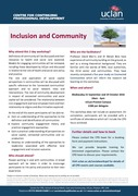 Inclusion and Community 2-part workshop
