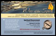 Way of the Spirit 2016: Spiritual Discernment