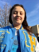 MY DAUGHTER TUNAKAIMANU'S ACADEMIC & SPORTS LETTERMAN JACKET