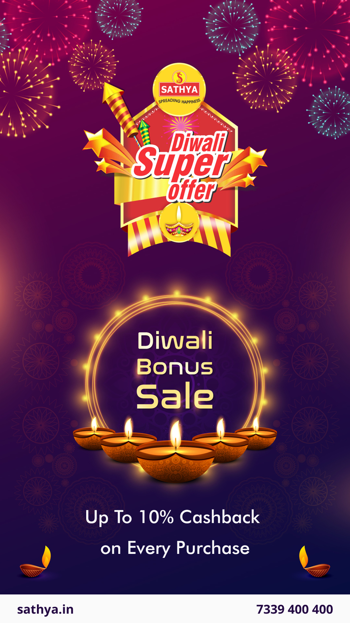 Diwali Offer Sale - Sathya Online Shopping