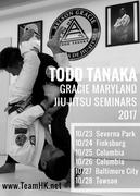 TODD TANAKA EAST COAST SEMINARS 2017
