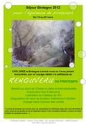 Séjour de printemps 2012 en Bretagne : le Renouveau