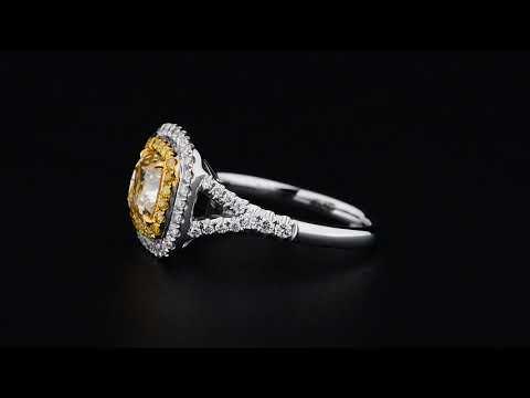 Know About Fancy Light Yellow Diamonds Rings - Asteria Diamonds