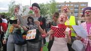 Ateliers et stages de clown; masque; jeu vocal – saison 2014-2015
