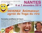 Devenez animateur de yoga du rire ! 06 et 07 déc 2014