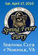 DISCOUNT TICKETS END AT 5PM - Sertoma Club - Spring Fever Party featuring 2 Bands and AYCE and Drink!!