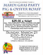 Mardi Gras Pig & Oyster Roast