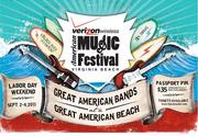 AMERICAN MUSIC FESTIVAL SATURDAY AND SUNDAY LINE-UP
