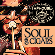 Soul & Cigars at 11th Street Taphouse with Joe Heilman from 7 to 10 with RECON CIGARS and 50% off Micro and Craft Brewed Beers!