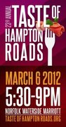 Taste of Hampton Roads - The Big Event ** SORRY THIS EVENT IS COMPLETELY SOLD OUT! **