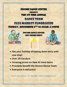 Semi-Annual Flea Market Fundraiser Benefitting Performing Arts