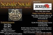 Borderline Crazy Trio at Seaside Raw Ber IN HONOR OF WORRELL BROTHERS + KARAOKE + HAPPY HOUR 2PM TO 1OPM