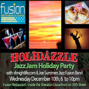 VBNIGHTLIFE HOLIDAZZLE JAZZ JAM AND HOLIDAY PARTY