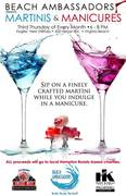 MARTINIS AND MANICURES - TO BENEFIT Jewish Family Service of Tidewater, Inc. 'sHelping Hearts Project!