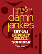Damn Jankes duo @ Sunset Grill