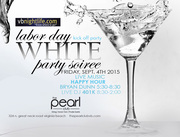 VBNIGHTLIFE White Party at The Pearl Club Happy Hour - Featuring Bryan Dunn & DJ 401k From Hot 100.5