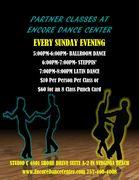 Partner Dance Classes at Encore Dance Center