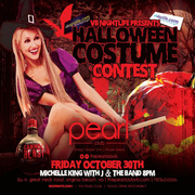 Halloween Party & Costume Contest at The Pearl Club Featuring Dancing with J and the Band