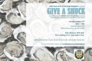 GIVE A SHUCK - OYSTER ROAST BENEFIT AT LEAPING LIZARD