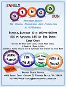 Annual Family Bingo FUNdraiser benefiting The Virginia Foundation for the Performing arts & 757 Baseball