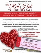 THE RED HOT VALENTINES BALL - Discounted Admission with Your Locals Only Discount Card!