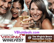 Discount Tickets to Coastal Virginia Wine Fest