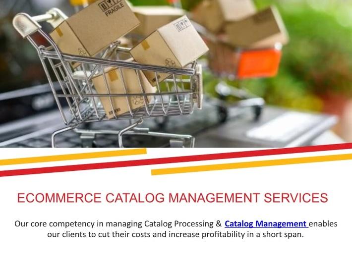 ECommerce Catalog Management Services - Max BPO