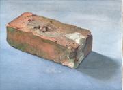 """Brick by Brick"" paintings by Barbara Johnson"