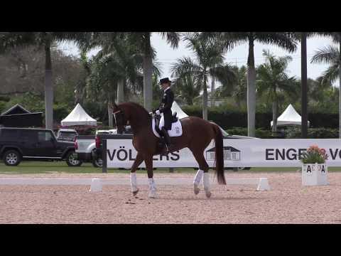Lisa Wilcox: Grand Prix Warm Up Footage