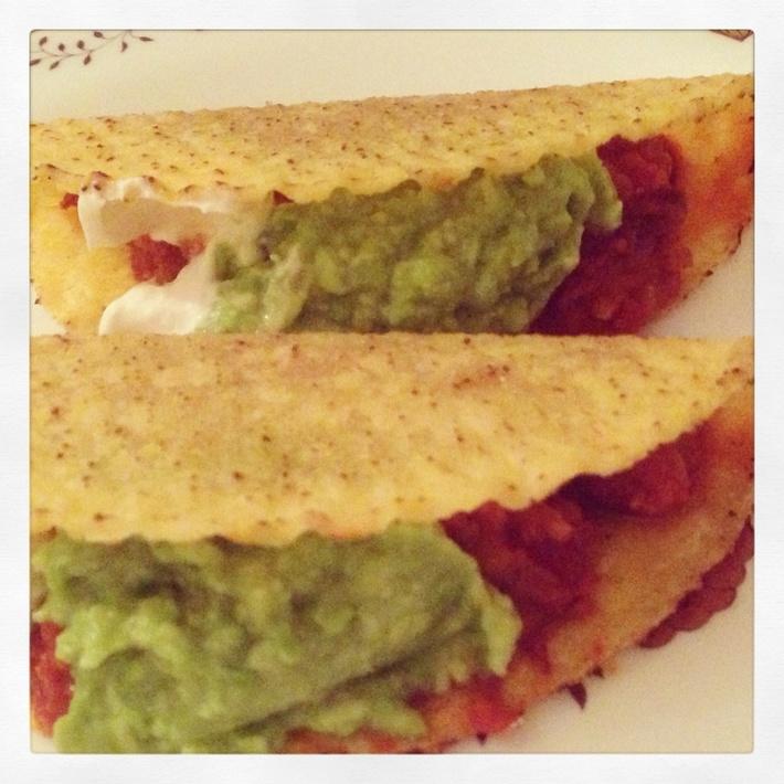 Nav s kidney bean taco ❤️