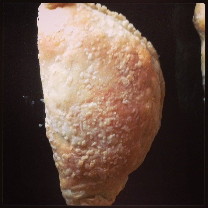 Mushroom and soya mince pie ❤️ Just baked ❤️Tasty