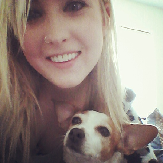 me and the pup =)