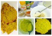 chickpea 'omlette'