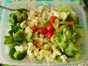 Veggie pasta@Failed attempt at cauliflower alfredo.