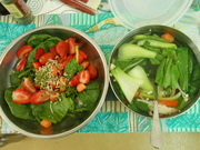 10 minute soup and salad