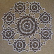 Coronet Doily Table Cloth