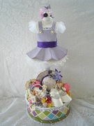 G45 SECRET GARDEN EASTER DRESS 2013