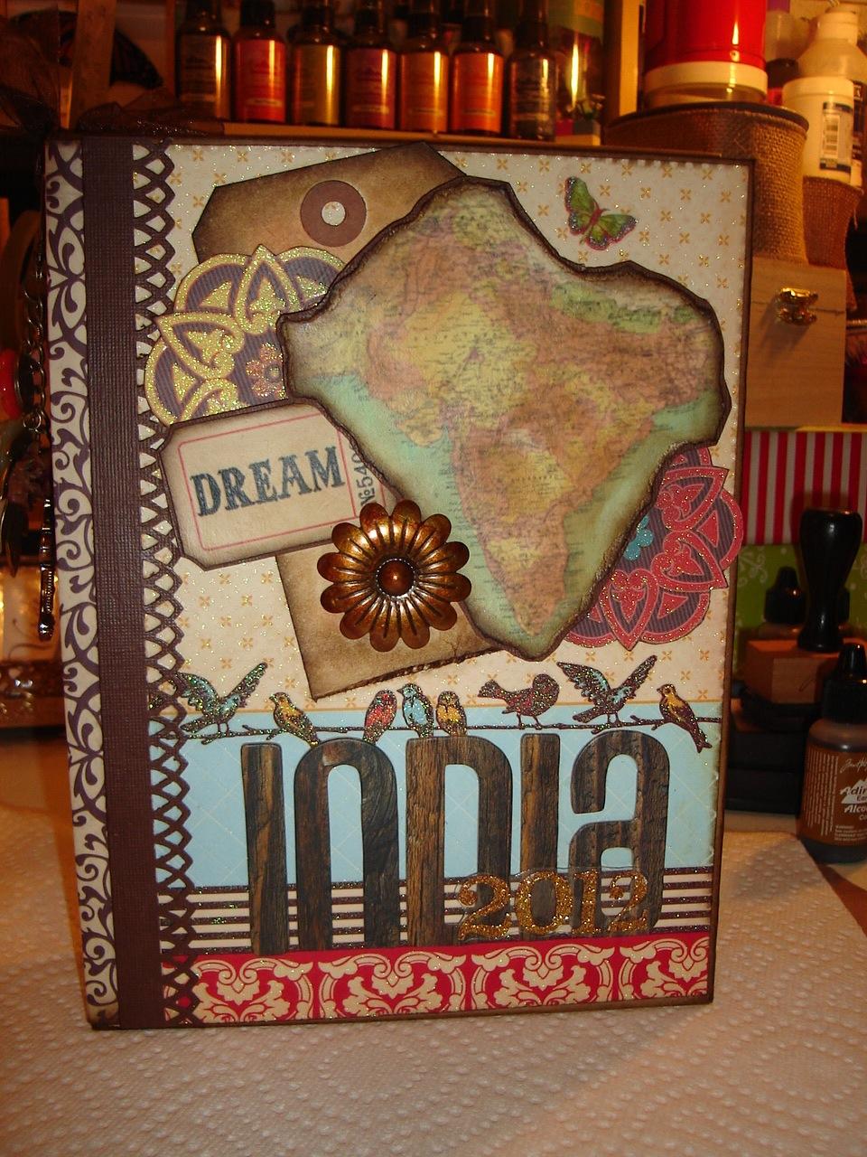 India Mini Album for a Friend