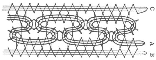 bobbin lace pattern mm99