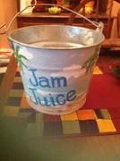 I had a friend make me a new tip bucket - super cool