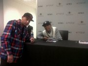 DJ Decoy and Russel Simmons