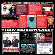 Hip Hop Weekly Magazine Featuring Young Gifted