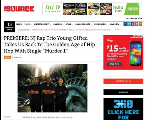 The Source Magazine Featuring Young Gifted