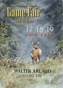 Visuel Walter Arlaud game fair 2016